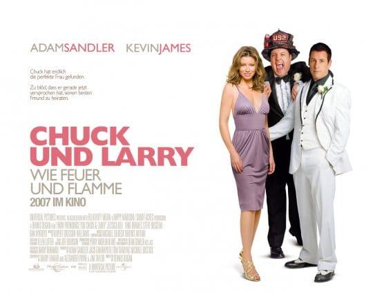 Chuck und Larry Wie Feuer und Flamme