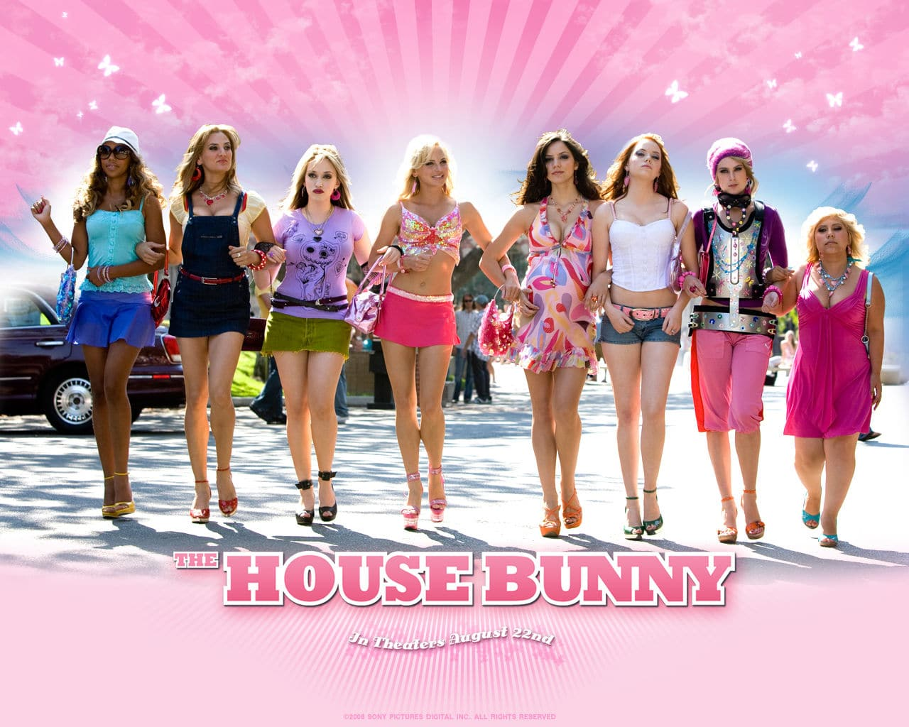 the house bunny04 Kinocast #89: House Bunny Sony Pictures Rumer Willis Katharine McPee Kat Dennings Fred Wolf Emma Stone Colin Hanks Anna Faris 2008
