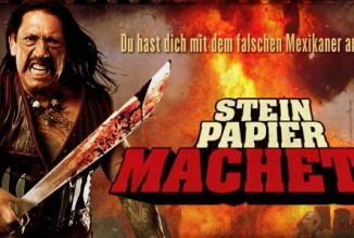 """MACHETE – Das Spiel """"Stein Papier Machete"""""""