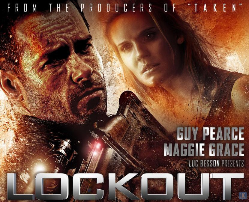 Lockout Film Poster K #250: Lockout Vincent Regan Universum Film Stephen St. Leger Peter Stormare Maggie Grace Luc Besson Lennie James Joseph Gilgun James Mather Jacky Ido Guy Pearce EUROPA Anne Solenne Hatte