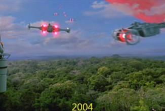 Der Vergleich der Star Wars Effekte 1977 – 2004