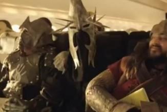 """Airline überrascht mit """"Hobbit"""" – Sicherheitsfilm"""