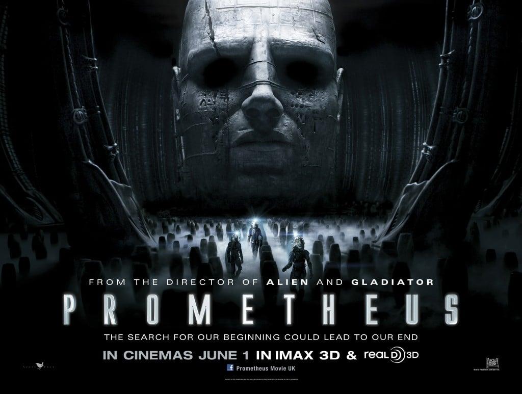 Prometheus DVD Blu-ray 3D