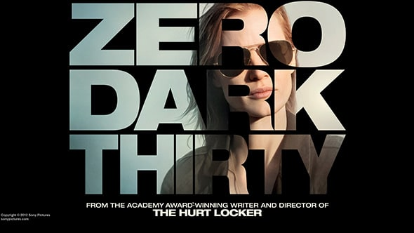ZERO DARK THIRTY - Oscar 2013