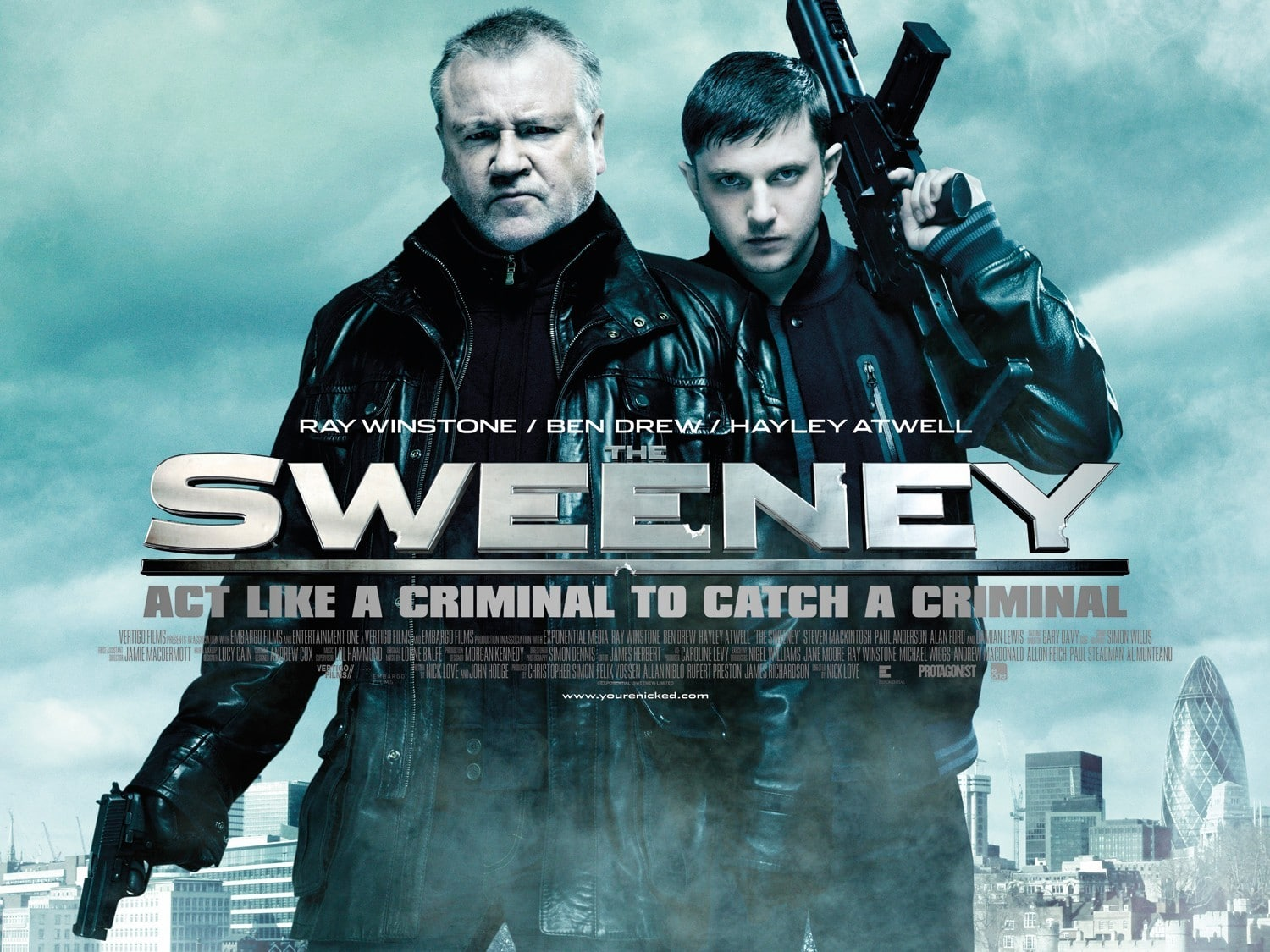 The Sweeney + The Crime + Film Movie Poster