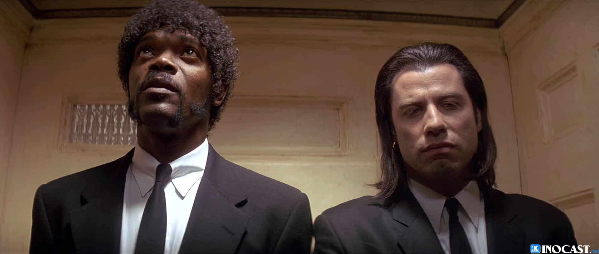 Pulp Fiction Samuel L Jackson John Travolta Elevator Scene