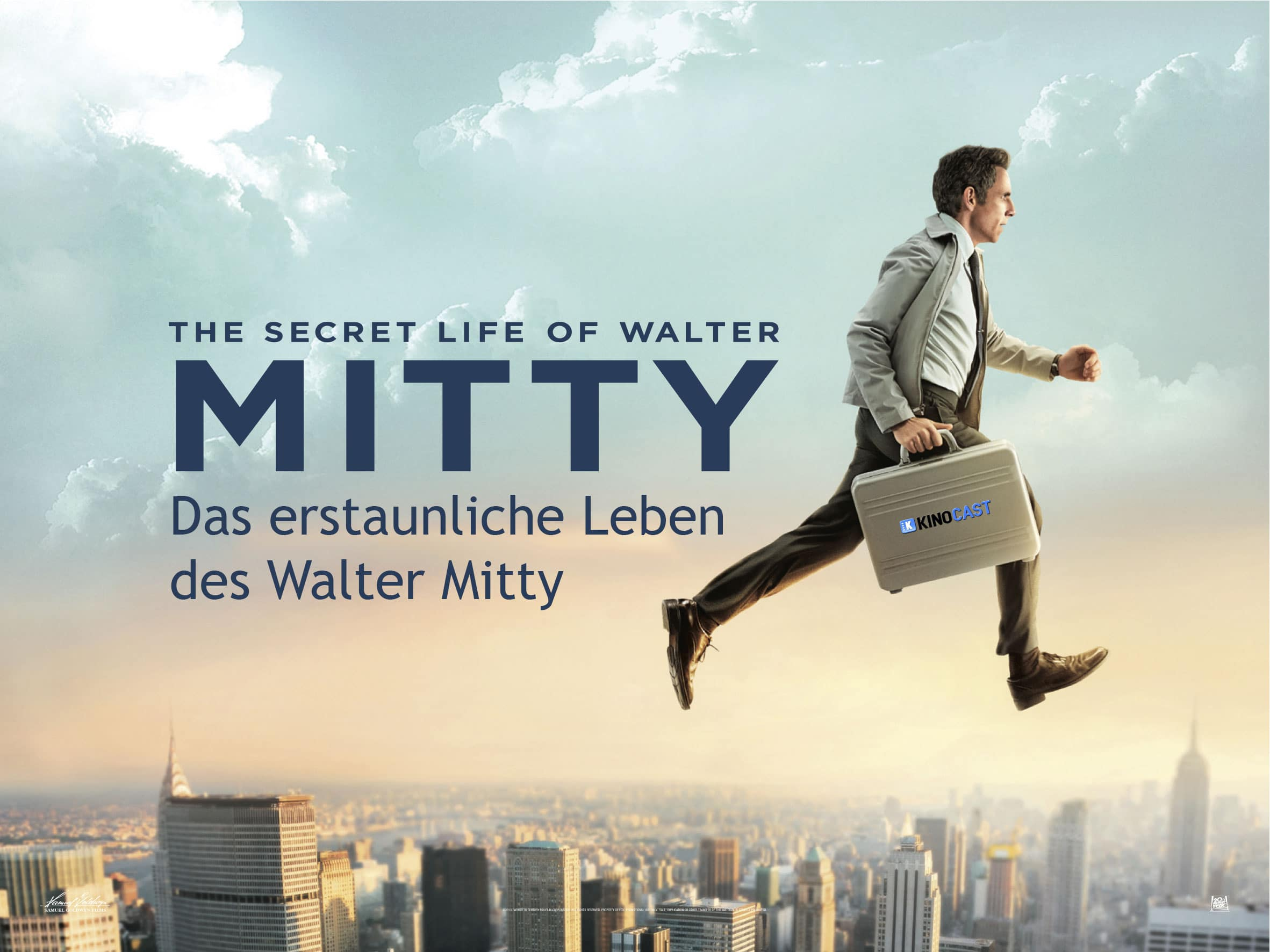 Walter Mitty Film TRAILER Deutsch