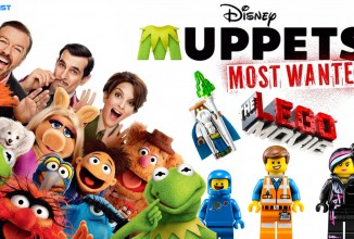 #341: Muppets most wanted, The LEGO Movie