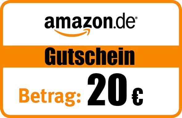 20 EUR Amazon Gutschein