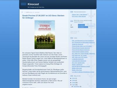 2007-06-27-Kinocast-auf-Blogspot