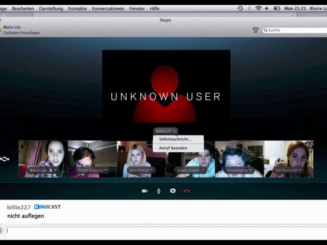 Unknown User Stream German