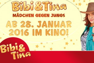 Gewinnspiel: BIBI UND TINA – MÄDCHEN GEGEN JUNGS