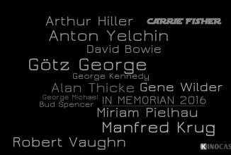 In Memoriam 2016 | Wir trauern um diese Künstler