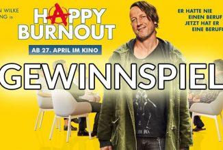 Gewinnspiel: HAPPY BURNOUT
