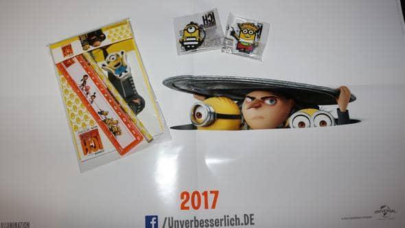 , Minions Gewinnspiel: Ich einfach unverbesserlich 3, Kinocast   Der Podcast aus Stuttgart über Kino, Sneak Preview, Filme, Serien, Heimkino, Streaming, Games, Trailer, News und mehr