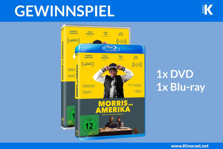 , Gewinnspiel: Morris aus Amerika, Kinocast   Der Podcast aus Stuttgart über Kino, Sneak Preview, Filme, Serien, Heimkino, Streaming, Games, Trailer, News und mehr