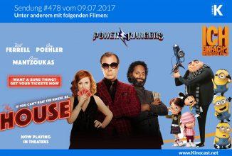 #478: Casino Undercover, <br>Ich einfach unverbesserlich 3, <br>Riot Club, <br>Power Rangers
