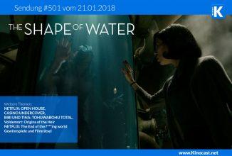 #501: The Shape of Water, Open House, Casino Undercover, Bibi und Tina: Tohuwabohu total, Voldemort: Origins of the Heir
