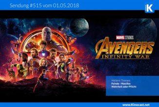 #515:<BR>Avengers: Infinity War, <BR>Feinde – Hostiles, <BR>Wahrheit oder Pflicht