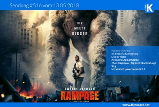 #516: <BR>RAMPAGE – Big meets Bigger, <BR>It's Kind of a Funny Story, <BR>Live by night
