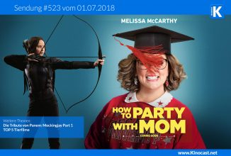 #523: <BR>How to party with mom, <BR>DTvP: Mockingjay Part 1, <BR>TOP 5 Tierfilme