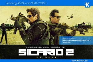 #524: <BR>Sicario 2, <BR>DTvP: Mockingjay Part 2, <BR>Trailertipps