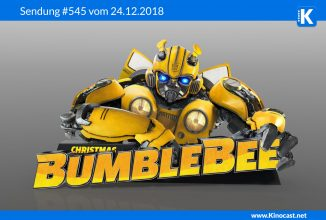 #545: Weihnachtsfolge mit <BR>Bumblebee, <BR>Johnny English 3, <BR>Solis, <BR>Tomb Raider, <BR>Final Space