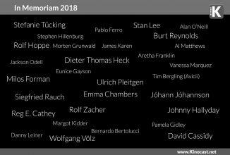 In Memoriam 2018 | <br>In 2018 verstorbene Künstler