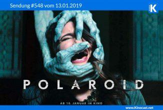 #548: <BR>Polaroid, <BR>No way out, <BR>Spiderman: A new Universe, <BR>The Ballad of Buster Scruggs, <BR>Bandersnatch, <BR>Sharknado 1-6
