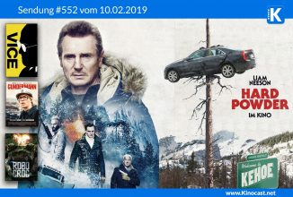 #552: <BR>Hard Powder (Cold Pursuit), <BR>VICE – Der zweite Mann, <BR>Gundermann, <BR>Robocroc
