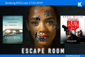 #553: <BR>Escape Room, <BR>Green Book, <BR>Death Wish, <BR>Umbrella Academy, <BR>CIV 6: Gathering Storm