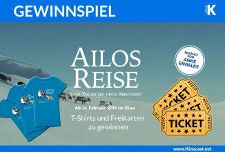 """Gewinnspiel: Freikarten und T-Shirt zu """"Ailos Reise"""""""