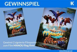 """Gewinnspiel: signierte Poster zum Film """"Manou – flieg' flink!"""""""