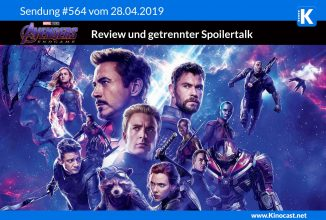 #564: <BR>Avengers: Endgame [Review + Spoilertalk], <BR>Fighting with my Family