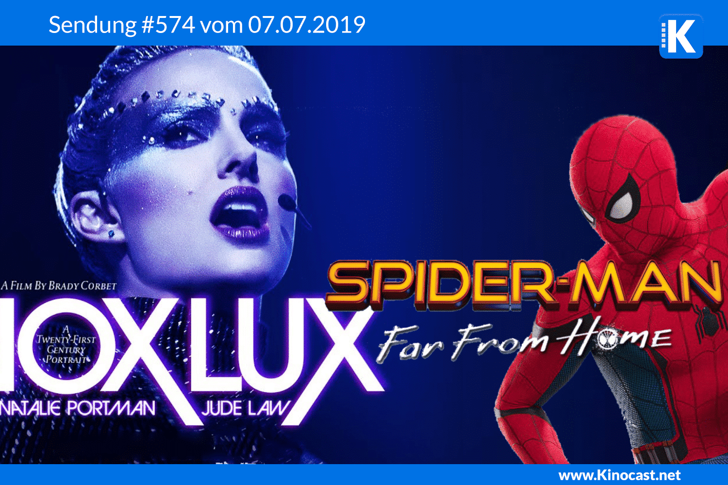 Vox Lux Spiderman far from home Sneak Preview Download film german deutsch