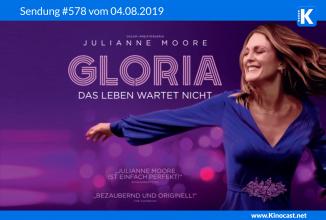 #578: <BR>Gloria – Das Leben wartet nicht, <BR>Schneeflöckchen, <BR>Zombieland, <BR>Snatch, <BR>Raft