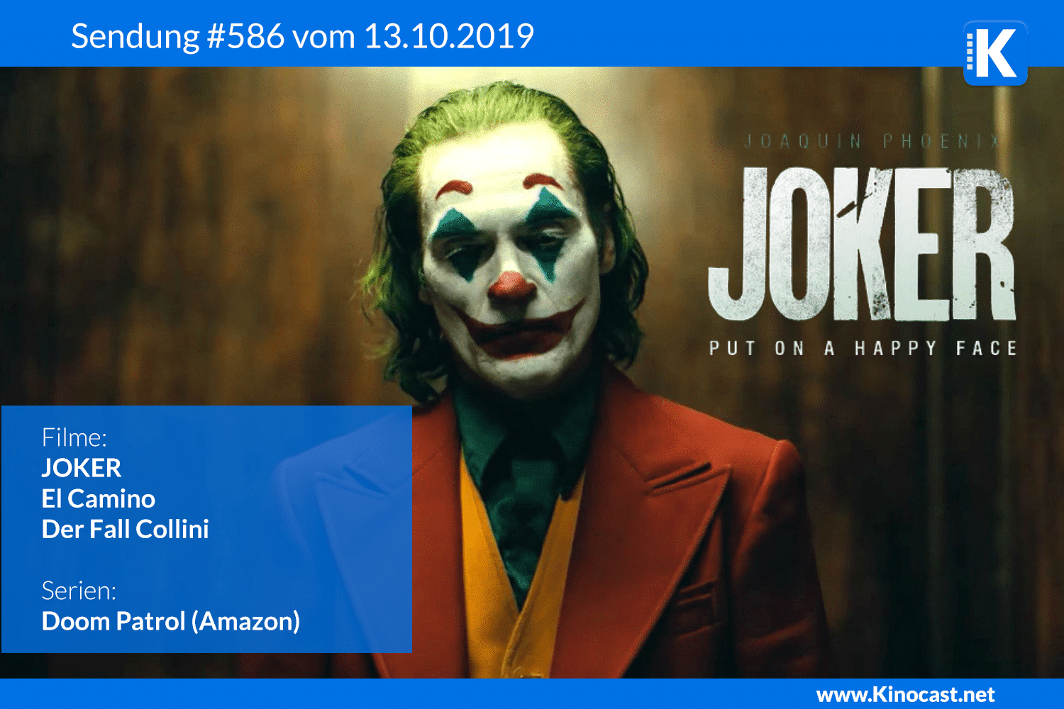 JOKER El Camino netflix Der Fall Collini Doom Patrol amazon Preview Download film german deutsch