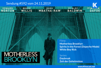 #592: <BR>Motherless Brooklyn,<BR>Spirits in the Forest (Depeche Mode Doku),<BR>White Boy Rick