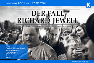 #601: Der Fall Richard Jewell, Marriage Story, Summer of 84, Picard