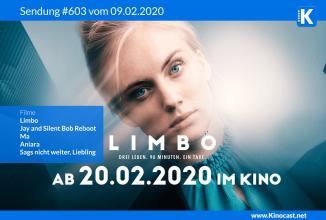 #603: Limbo, <BR>Jay & Silent Bob Reboot, <BR>Aniara, <BR>Ma, <BR>Sag's nicht weiter, Liebling