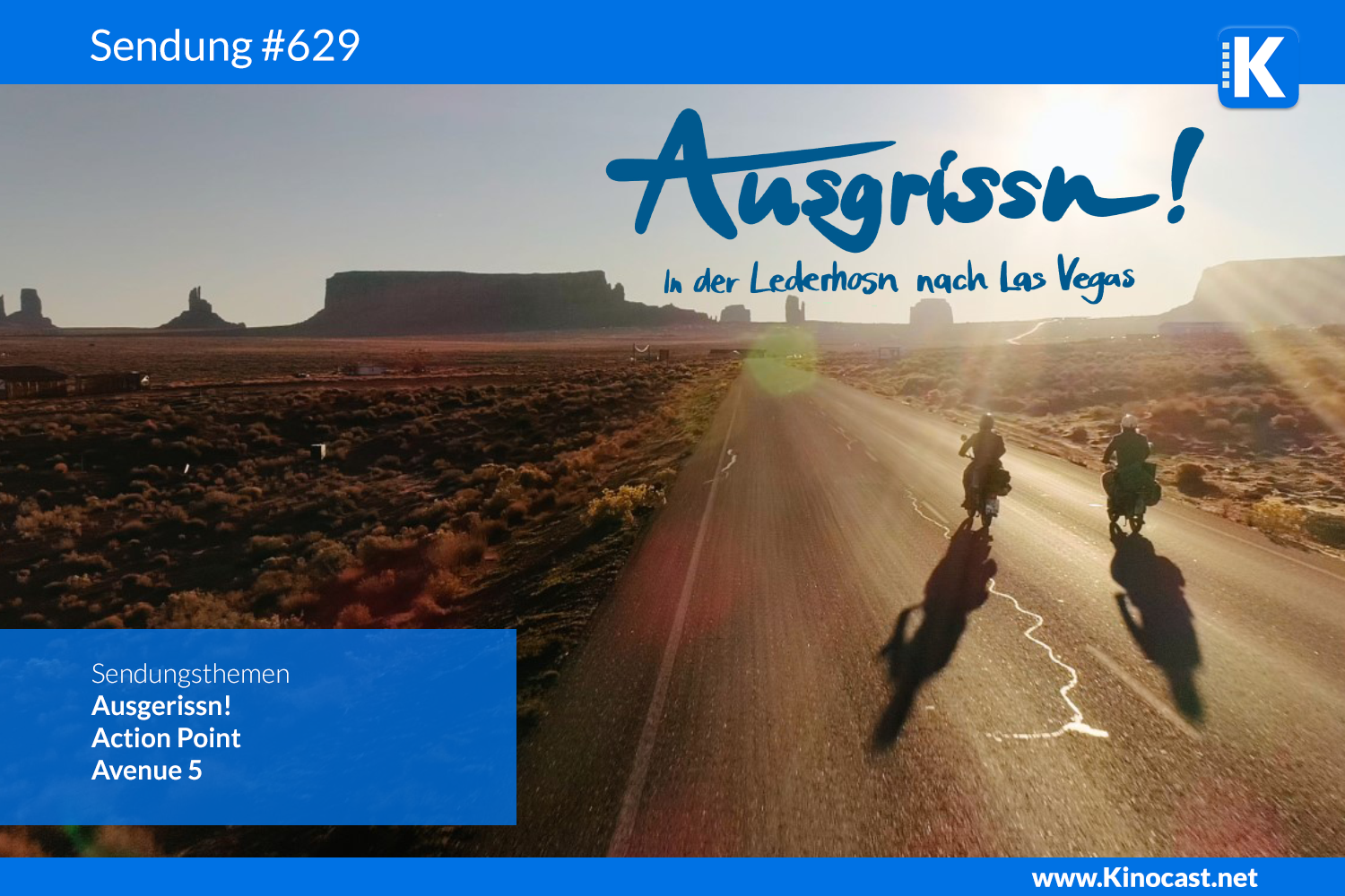 Ausgrissn In der Lederhosn nach Las Vegas Action Point Avenue Download film german deutsch Podcast