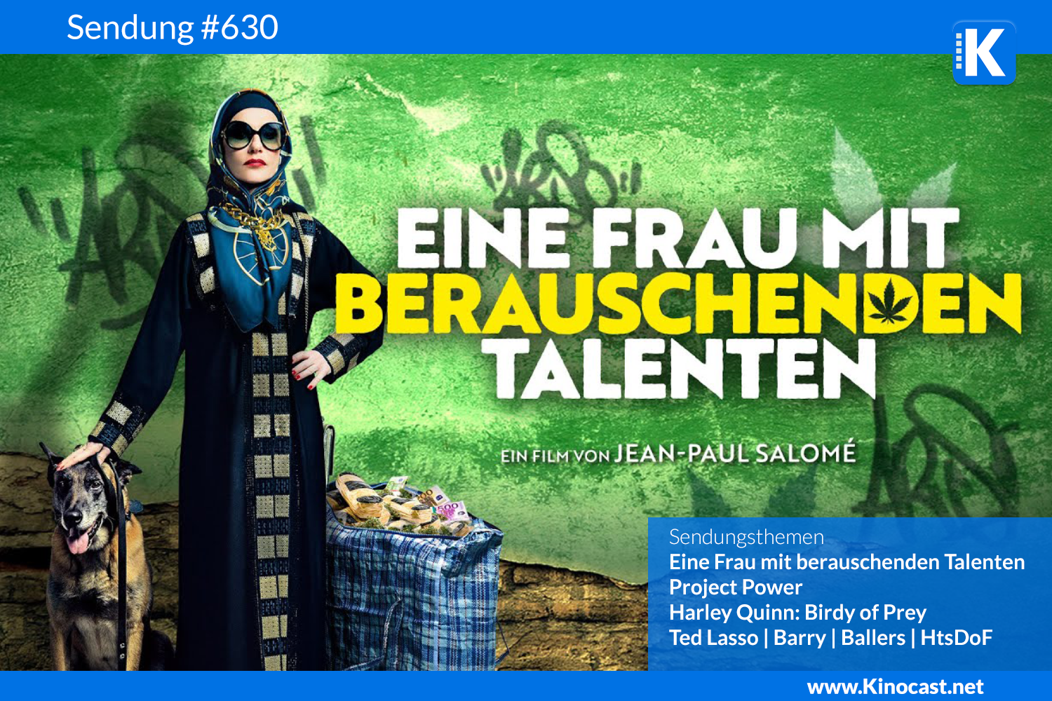 La Daronne Frau mit berauschenden Talenten Project Power Birds of Prey Download film german deutsch Podcast