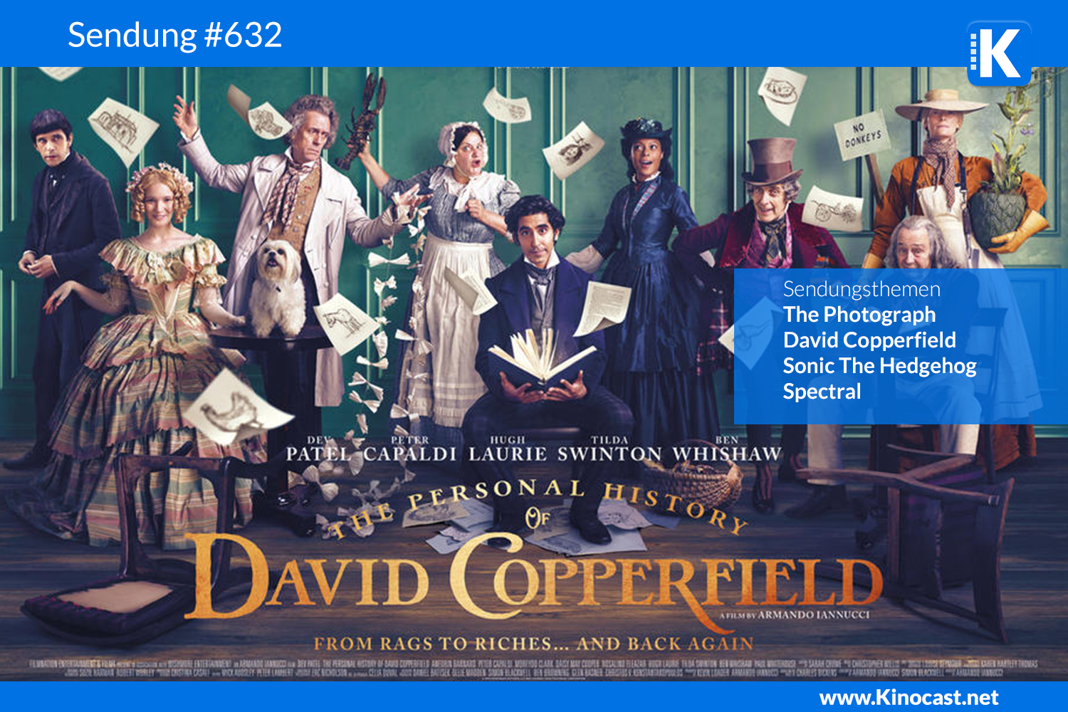 David Copperfield The Photograph Spectral Sonic Download Kritik film german deutsch Podcast