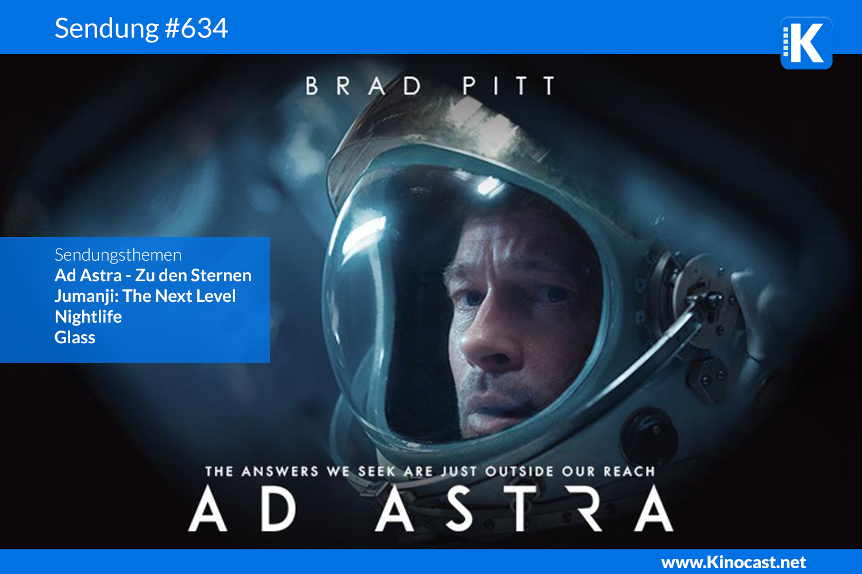 Ad Astra Jumanji next level nightlife glass Download Kritik film german deutsch Podcast