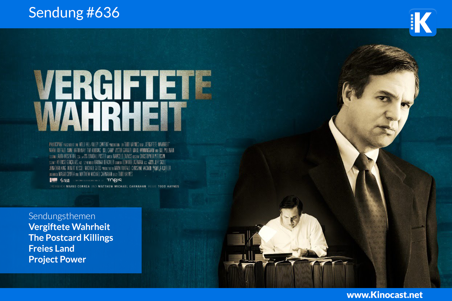 Vergiftete Wahrheit Dark Waters Freies Land x American Murder Download Kritik film german deutsch Podcast