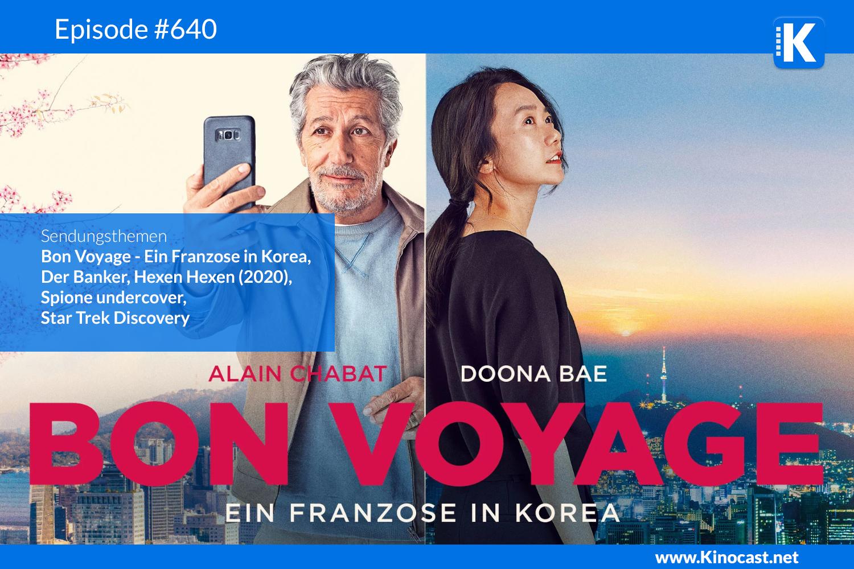 Bon Voyage Ein Franzose in Korea Der Banker Hexen Hexen Star Trek Discovery Download Kritik film german deutsch Podcast