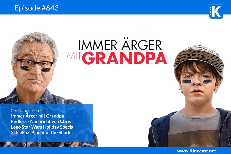 Immer Ärger mit Grandpa Endless Nachricht von Chris Lego Star Wars Holiday Special SchleFaz Download Kritik Film german deutsch Podcast