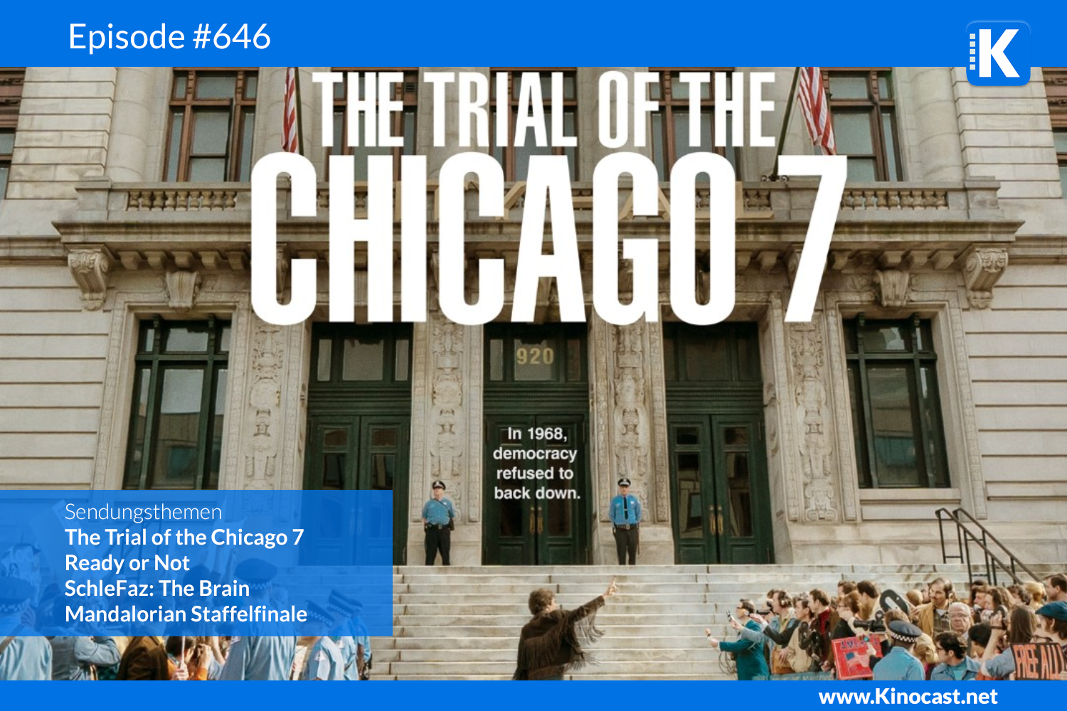 The Trial of the Chicago Ready or Not Mandalorian Season Finale Download Kritik Film german deutsch Podcast
