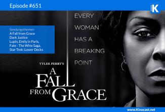 #651: A Fall from Grace, Dark Justice, Lupin, Star Trek: Lower Decks, Emily in Paris, Fate – Die Winx Saga