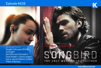 #658: Songbird, Unhinged, Zack Snyder's Justice League, Prinz aus Zamunda 2, Falcon and the Winter Soldier, Tribes of Europa